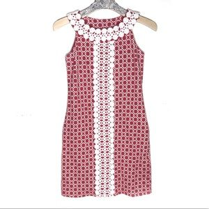 Charter Club petite Xs chain links print dress